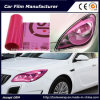 Self-Adhesive Pink Color Car Headlight Film Car Tint Vinyl Films 30cmx9m
