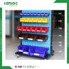 Back Hanging PP Reusable Storage Plastic Bins for Rack