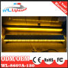LED Emergency Police Traffic Warning Lightbar Amber/White