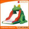 2017 Giant Inflatable Frog Lanes Slide for Amusement Park (T4-681)