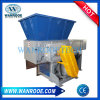 Waste Plastic Wood Recycling Single Shaft Shredder