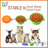 2017 Hot Sell Silicone Travel Collapsible / Folding Pet Bowl