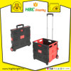 Folding Boot Cart Collapsible Shopping Trolley Wheeled Cart