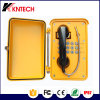 Aluminum Alloy Waterproof Telephone with Line Power Knsp-01