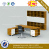 Solid Wood Glossy Executive Office Desk Classic Office Furniture (HX-8NE1061)