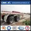 Cimc Huajun 40FT 2axle Flatbed Semi Trailer (EXPORTED)