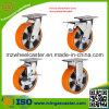 Aluminium Center PU Caster Wheel