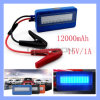 12000mAh Portable Mini 12V Car Jump Starter Jumper Booster Power Battery Charger
