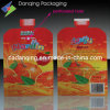 Non-Toxic Juice Pouch with Spout Perforate Hole (DQ0121)