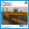 30-60 Ton Flatbed Semi Trailer with Container Lock for 20FT 40FT Transportation