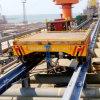 Heavy Duty Shot Blast Booth Electric Rail Transport Cart for Warehouse Transfer Trailer
