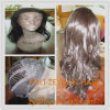 Long Culry Heat-Resistance Synthetic Hair Lace Front Wig