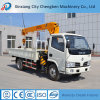 2017 Latest Construction Machinery Mobile Truck Mounted Crane in UK