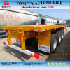 2015 New Made in China Tongya Flatbed Semi Trailer