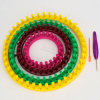 ABS Round Loom Hat for DIY Accessories