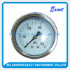 All Stainless Steel Pressure Gauge Back Type with Clamp