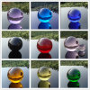 Hot New Colorful K9 Solid Glass Crystal Ball for Sale