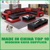 Leisure Furniture Divan Genuine Leather Sofa Set