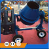 Portable Blue Concrete Mixer with Tilting Drum