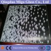Lead-Free Silkscreen Frosted Tempered Shower Glass Door (6mm 8mm 10mm)