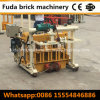 Qt40-3A Hydraulic Cylinder Cement Concrete Hollow Block Forming Machine