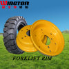 Solid Forklift Tires Resilient Tire 18X7-8