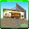 YEROO Outdoor Highway Unipole Advertising Backlit Billboard Display