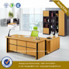 Wooden Melamine Office Furniture Executive Office Table (HX-GD044)