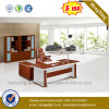 Oak Office Desk Furniture L Shape Wooden Executive Table (NS-ND133)