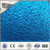 Blue Ten Years Guarantee 2.7mm Polycarbonate Embossed Sheet for Roofing
