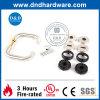 High Quality Plastic Base Door Handle for Metal Door (DDPL005)