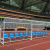 Good Movable Football Equipment Soccer Team Shelter