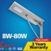 Cool White 80W Integrated Garden Solar Street Light