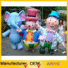 Top Quality Customized Mascot Inflatable Cartoon Costume