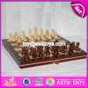 New Design Children Educational Wooden Chessboard with Chess Pieces W11A055