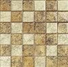 Gold Foil Mosaic Tile Crystal Glass Mosaic (HGM235)