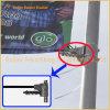 Metal Street Pole Advertising Display Mechanism (BT-BS-076)