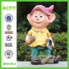Young Handsome Logger Gnome Figurine (NF91176-4)