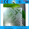 3-6mm Decorative Acid Etched Frosted Art Architectural Glass