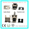 Shield Cat5e Keystone Jacket Module Connector Mactisical RJ45 Cat 5e Ethernet Module ...