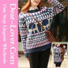 Autumn Winter Style Wool Ladies Sweater