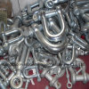 D Type Shackle, European Type, Bow Shackle, Galvanized Trawling Shackle