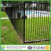 1.2X2.4m Black Powder Coated Pool Fence Panel