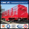 Cimc Huajun 2axle Tri-Stake Gooseneck Cargo Trailer