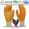 13G Polyester Shell Nitrile Fully Coated Gloves (N1505) Smooth Finish with CE, En388, En420, Work Gloves
