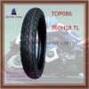 Size 360h18 Tl Good Quality, Tubeless ISO Nylon 6pr Motorcycle Tyre