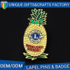 Custom High Quality Metal Pineapple Badge