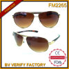 FM2265 Fashionable Full Frame Metal Sunglasses for Male Manufactured in Zhejiang