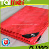 40GSM ~ 300GSM Orange Hot Sales PE Tarpaulin for Covering