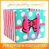 Custom Square Bottom Paper Gift Bag Shopping Manufacturer